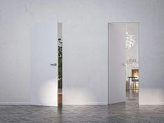 La porta si nasconde allo sguardo uniformandosi perfettamente con il resto della parete.Syntesis Line battente è la gamma di porte a battente filomuro Eclisse che non necessita di finiture esterne come stipiti e cornici coprifili. La totale integrazione...