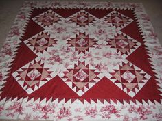 simple red and white quilts | Quilt Album: Red and White