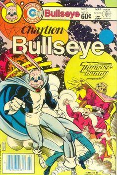 Charlton Bullseye released by Charlton on March Vintage Comic Books, Vintage Comics, Comic Books Art, Comic Art, Atom Comics, Dc Comics, Alien Artifacts, Charlton Comics, Superhero Characters