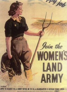 The Women's Land Army worked the land here at West Down House, Bradworthy,  Holsworthy,  Devon to produce food during the Second World War WWII