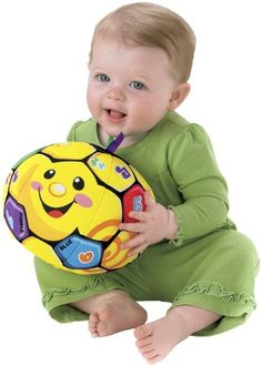 Fisher-Price Laugh & Learn Singin' Soccer Ball . A gift idea - toys for 2 year old boys .Read more at http://www.toys-zone.com/fisher-price-laugh-learn-singin-soccer-ball/