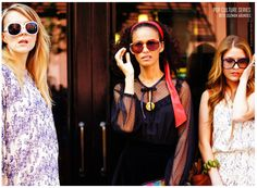 Pop Culture Series by Beto Guzman Abundes  Three Girls, Three Ivana Helsinki Dresses #meangirls #gossipgirl #fashion