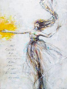 Kim Normandin L'identitée Folk Art, Abstract, Painting, Artwork, Inspiration, Art Work, Work Of Art, Biblical Inspiration, Popular Art