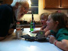 Kimberly Green-Pratt   Angry grandpa