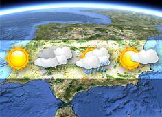 The weather in Alicante  Le temps à Alicante.