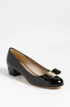 Tyler's Splurge-Worthy Patent Pumps . The lesson: Don't borrow shoes you can't afford.