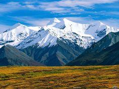 Montanhas coberta de veve