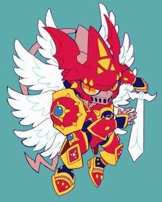 Chibi gallantmon crimson mode by extyrannomon Character Concept, Character Art, Concept Art, Character Design, Anime Chibi, Kawaii Anime, Manga Anime, Digimon Wallpaper, Digimon Tamers