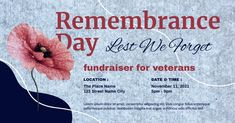 Customize this design with your video, photos and text. Easy to use online tools with thousands of stock photos, clipart and effects. Free downloads, great for printing and sharing online. Facebook Shared Image. Tags: lest we forget, memorial day, november 11, remembrance day, veterans day, Memorial Day, Remembrance Day , Memorial Day