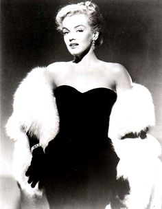 Marilyn Monroe in a publicity photograph for All About Eve, released 1950