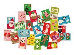 The Draw! Pilgrim vintage-style matchbox advent calendar printable kit is BACK!