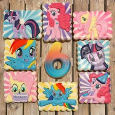 My Little Pony cookies - Andrea's Oven