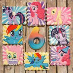 My Little Pony cookies - Andrea's Oven