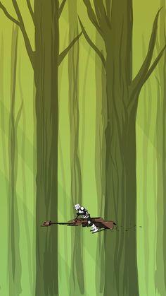 Star Wars iPhone Screens