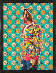 ARTE NEGRA, 1: Jovens são parados nas ruas de cinco continentes por artista afro-americano, que paga para pinta-los | papagoiaba