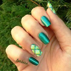 """Stamping master """"Vert&Blanc"""" @favreaubarbara"""