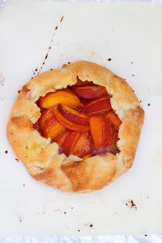 Summer Peach Crostata - I love peach desserts during our fresh peach season...YUM!!!!!  So delish...must be topped with creamy, thick whipped cream too!