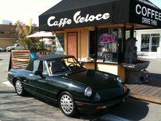 Drive thru coffee... man I love the West!