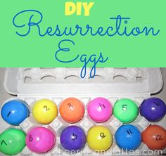 DIY Resurrection Eggs; sharing several ways to use your Resurrection Eggs. // cheeriosandlattes.com