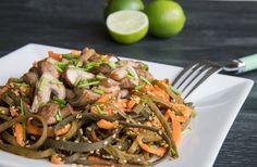 Zeewierpasta met paddenstoelen (oosters recept) Spirulina, Japchae, Broccoli, Sushi, Omega 3, Ethnic Recipes, Food, Essen, Meals