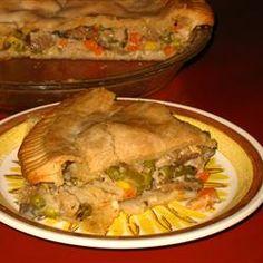 Grandma Carlson's Turkey Pot Pie Allrecipes.com