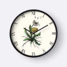 """Dandelion"" Clocks by Christina Meyer-Folkers | Redbubble"