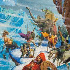 Los elefantes de Aníbal cruzando los Alpes. Más en www.elgrancapitan.org/foro