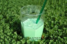 Shamrock Shake Cocktail - Adult version of the McDonalds classic