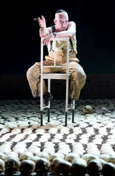 Fatzer, Brecht,  Berliner Ensemble, Karl Ernst Hermann Set Design Theatre, Prop Design, Stage Design, Berliner Ensemble, Contemporary Theatre, Mother Courage, Jamaica Inn, A Moveable Feast, Fantasy Concept Art