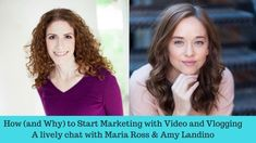 Want to do more #videomarketing to boost your biz? Enjoy this chat with YouTuber and expert vlogger Amy Landino and get going!