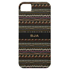 Ethnic Pattern Design Smartphone Case Case For iPhone 5/5S