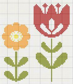 123 Cross Stitch, Cross Stitch For Kids, Cross Stitch Tree, Simple Cross Stitch, Cross Stitch Flowers, Cross Stitch Charts, Cross Stitch Designs, Cross Stitch Patterns, Cross Stitching