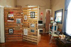 Art show display idea