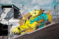 Kids and Animals – Les dernières créations street art de Telmo Miel (image)