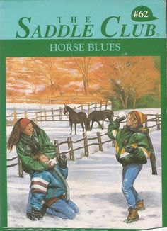 The Saddle Club #62 - Horse Blues by Bonnie Bryant - Paperback - S/Hand