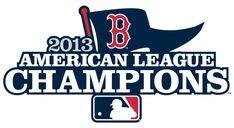 Boston Red Sox Champion Logo (2013) - Boston Red Sox 2013 American League Champions Logo