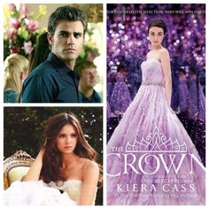 Eikko & Eadlyn - The Crown by Kierra Cass book five of The Selection series Kiera Cass Books, The Selection Book, Maxon Schreave, Forever Book, Never Grow Up, Girl Meets World, The Fault In Our Stars, The Heirs, Vampire Diaries The Originals