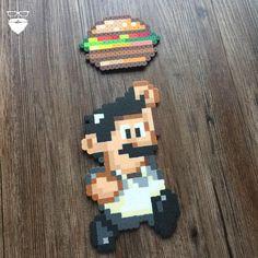 Mario meets Bob from #Bobs_Burgers  by piercepopart