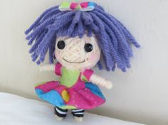Lalaloopsy Voodoo String Doll by BiaginiCo on Etsy, $10.00