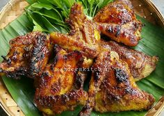 Ayam bakar solo foto resep utama Nasi Kerabu, Nasi Bakar, Fried Chicken, Tandoori Chicken, Asian Recipes, Ethnic Recipes, Asian Foods, Indonesian Food, Indonesian Recipes