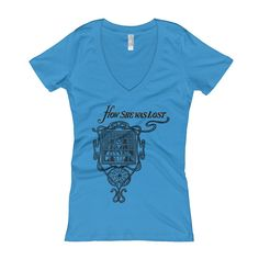 How She Was Lost Women's V-Neck T-shirt