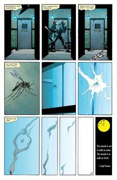 Doomsday Clock #4 Doomsday Clock, Walk On Water, Comics Online, Knight, Batman, Marvel, Watches, Art, Inspiration