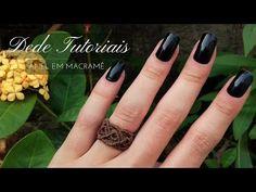 Macrame Celtic Ring Tutorial - How To Make Celtic Knot - Macrame Magic Knots Macrame Rings, Rope Jewelry, Macrame Knots, Diy Jewelry, Tutorial Anillo, Ring Tutorial, Micro Macramé, Celtic Rings, Celtic Knot