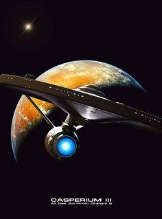 Science Fiction World — alphamecha: Casperium III by GrahamTG Star Trek Original Series, Star Trek Series, Fantasy Movies, Sci Fi Fantasy, Science Fiction, Star Trek Wallpaper, Star Trek Cast, Star Trek Images, Star Wars