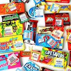 For Every Candy Bar Sayings | Clever Candy Sayings for {almost} Every Occasion!