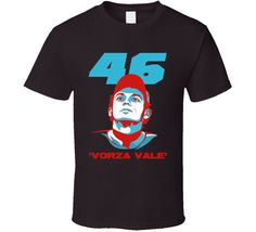 90aebba5036 Valentino Rossi Italian Moto GP star 46 vorza vale racing fans trending  race day t-shirt