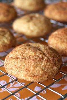 Baked Perfection: Pumpkin Snickerdoodles and a Giveaway