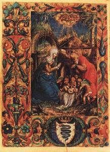 Manuscript, 1527-8. This book was made for Bona Sforza, wife of Sigismund I, King of Poland. Artist, Stanislaus Claratumbensis. Lituania, Polonia, Imágenes De Jesus, Bona, Renacimiento Italiano, Siglo 16, Miniatura