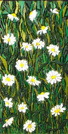 undefined Mosaic Diy, Mosaic Glass, Mosaic Tiles, Glass Art, Mosaic Birdbath, Mosaic Garden, Mosaic Designs, Mosaic Patterns, Mosaic Windows