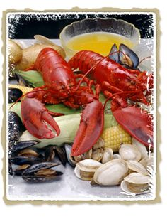 Get Kitchen Clambake Recipe from Food Network Seafood Buffet, Seafood Restaurant, Seafood Dishes, Seafood Recipes, Seafood Market, Seafood Boil, Traeger Recipes, Grilling Recipes, Cooking Recipes